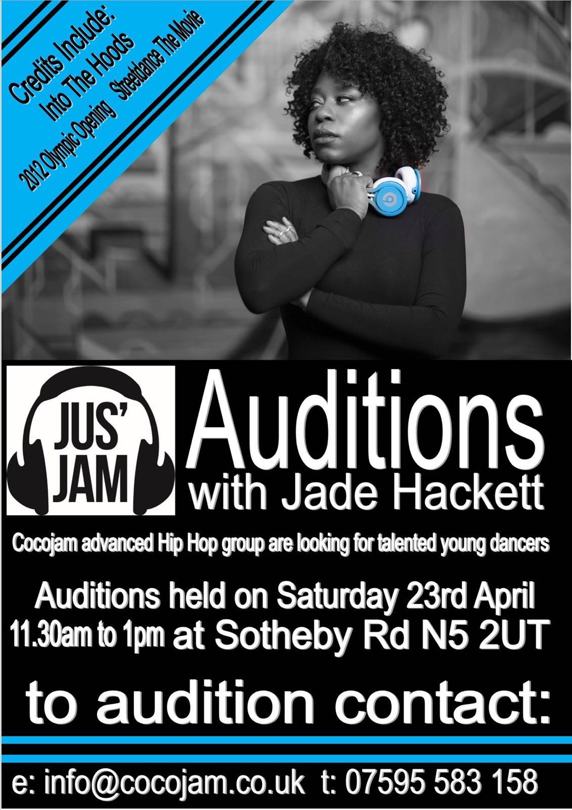 Jus' Jam Auditions!